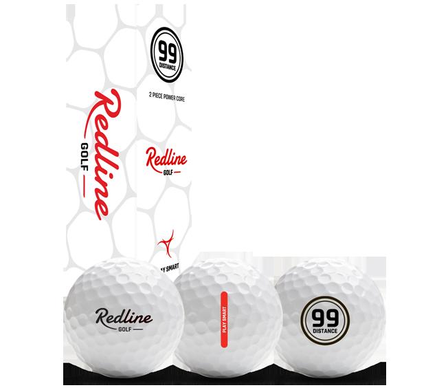 2P Distance Golf ball Redline 99