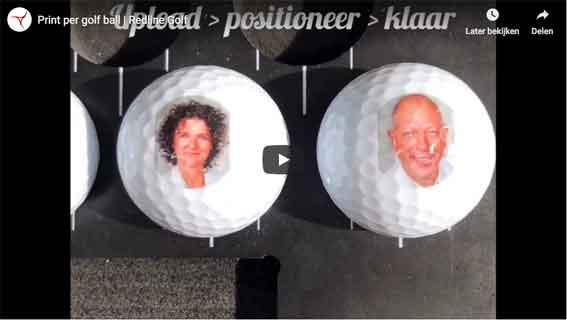 Golfbälle bedrucken pro Ball