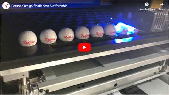 personalise golf balls by uv print